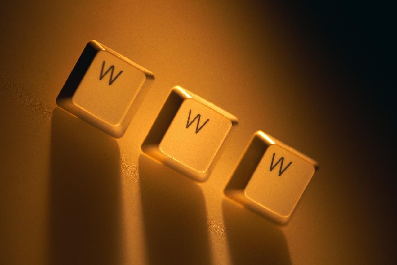 Computer Keys Spelling WWW